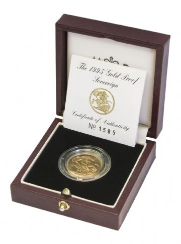 1995 Proof Full Gold Sovereign